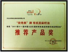 Recommended Product Award