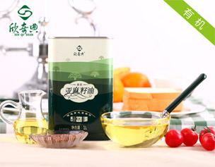"""""""Xinqidian"""" organic flax seed oil -1L"""