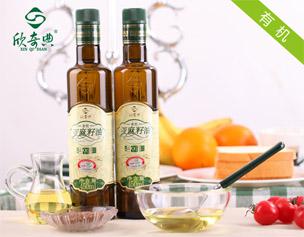 """Xinqidian"" organic flax seed oil -450ml"